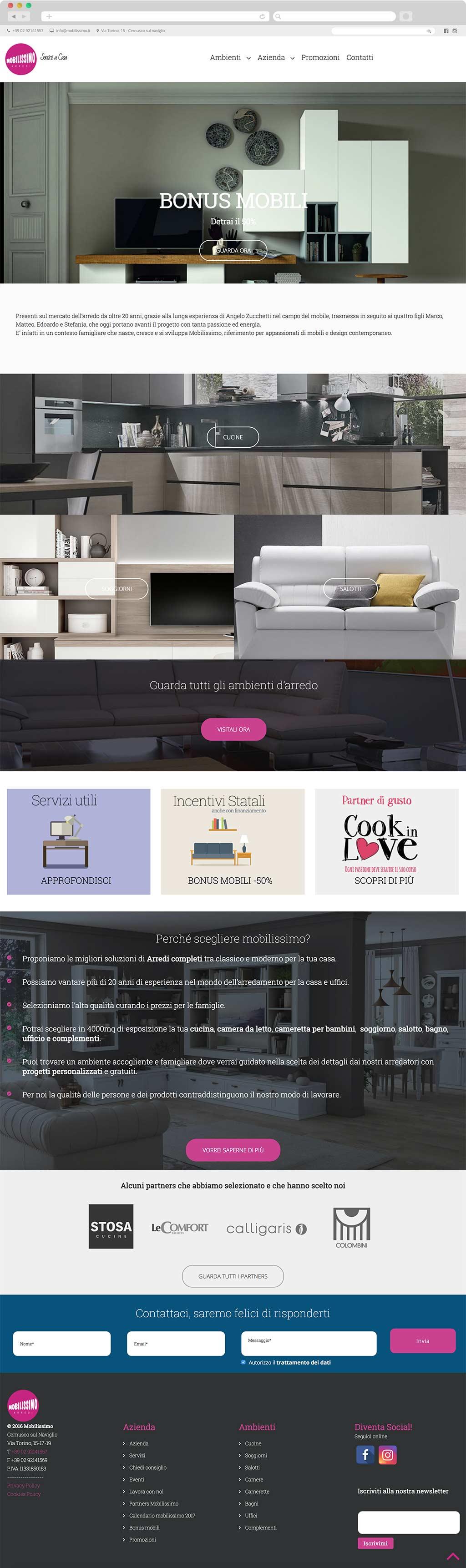 home mobilissimo website