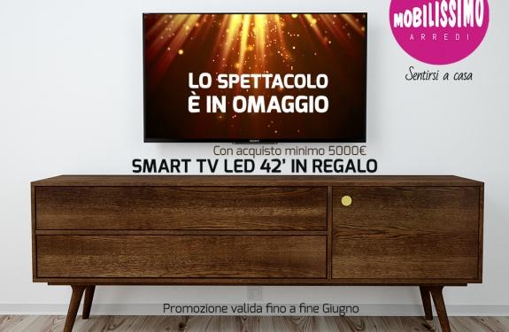 campagna TV regalo living
