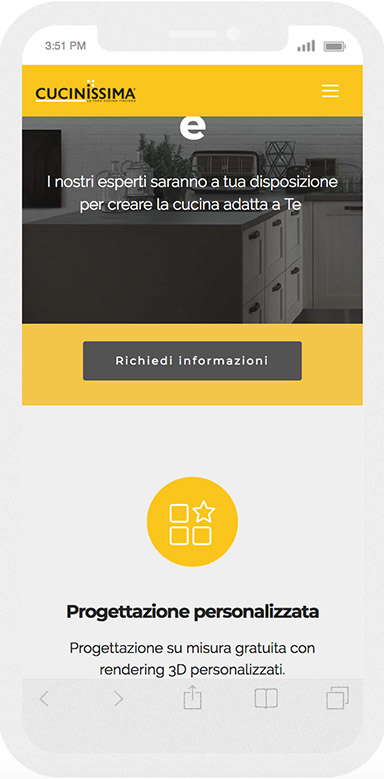 cucinissima call to action