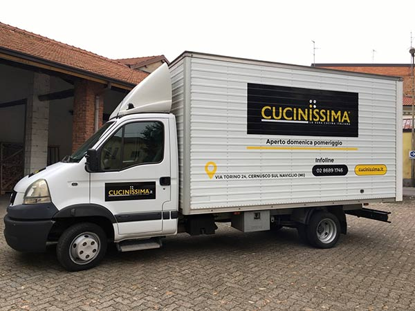 furgone cucisimma grafica