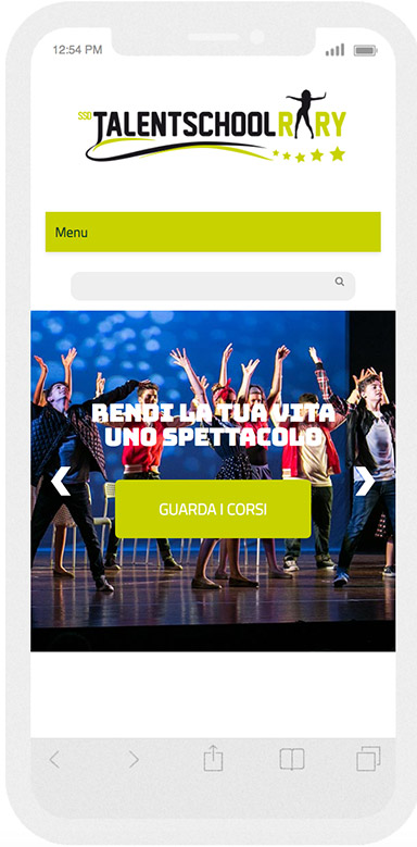 talent home responsive