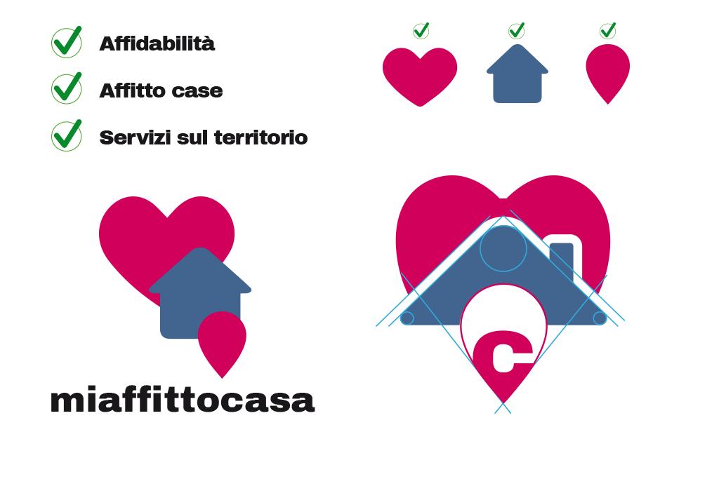 logo design miaffittocasa