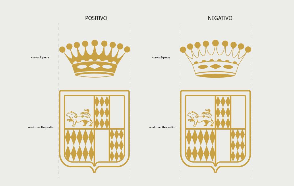 dettaglio stemma corona